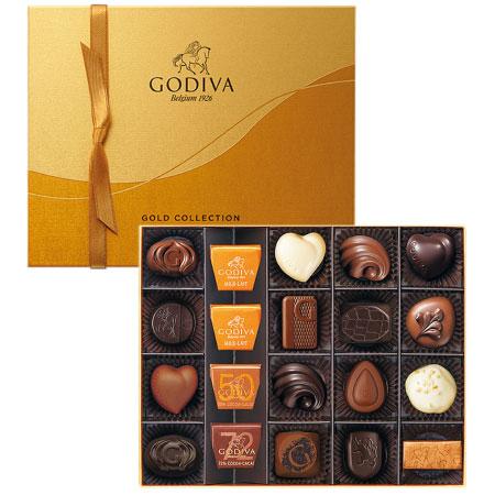 【送料無料】【結婚内祝】ゴディバ ゴールドコレクション20粒入 たまひよSHOP・たまひよの内祝い