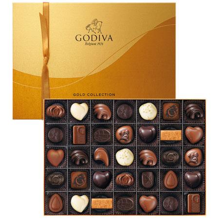 【送料無料】【結婚内祝】ゴディバ ゴールドコレクション35粒入 たまひよSHOP・たまひよの内祝い
