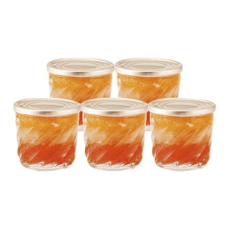 【送料無料】【出産祝】オステリア サクラ グレープフルーツ&オレンジゼリー5個入 たまひよSHOP・たまひよの内祝い