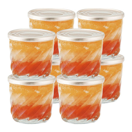 【送料無料】【出産祝】オステリア サクラ グレープフルーツ&オレンジゼリー8個入 たまひよSHOP・たまひよの内祝い