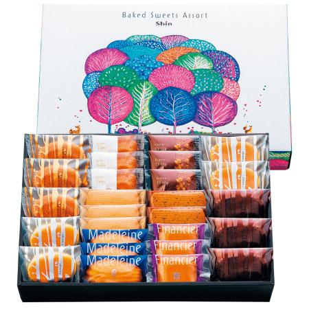 【送料無料】【出産祝】ファクトリーシン エクセレント焼菓子セット27個 たまひよSHOP・たまひよの内祝い