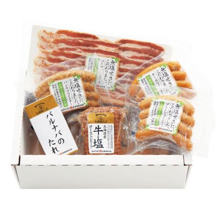 【送料無料】【出産祝】札幌バルナバハム 身体にやさしい北海道産ハムギフトA たまひよSHOP・たまひよの内祝い