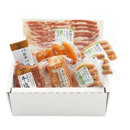 【送料無料】【出産祝】札幌バルナバハム 身体にやさしい北海道産ハムギフトB たまひよSHOP・たまひよの内祝い