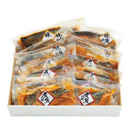 【送料無料】【出産祝】大阪・活黒 簡単便利煮魚・焼魚詰合せB たまひよSHOP・たまひよの内祝い