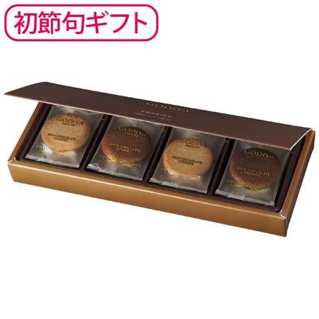 【期間限定販売】2019年7月25日まで販売 ■内容:クッキー(ミルクチョコレート・ダークチョコレート)×各4 <フォトブックつき商品の場合> ■内容:フォトブック×1 ゴディバのスイーツで初節句のお祝いを。 ゴディバならではの、チョコレートの味わいを大切にしたクッキー。軽やかな口当たりと豊かな風味をお楽しみいただけます。 ミルクチョコレートを、ほんのりココアが香るラングドシャ生地でサンドした「ミルクチョコレート」と、ココア入りラングドシャ生地にダークチョコレートをサンドした「ダークチョコレート」のアソートメントです。 <ゴディバ> ゴディバは、90年以上にわたりベルギーチョコレートの伝統に貢献し、世界中で愛されている高級チョコレートのリーディングブランドです。 豪華なハードカバー仕様で、忙しい時でもネットで簡単に作成できる[フォトブック]とのセットもご用意しました。 ●[フォトブック] ・詳細は特集ページからご確認ください。 ・必ず、フォトブックを作成してください。コチラから。 ・フォトブック作成後、注文IDが発行されますので、商品注文時に入力してください。 ■配送のご注意 ●お届けまでに10日ほどお時間をいただきます。 ●フォトブック付き商品の場合は、お届けまでに20日ほどお時間をいただきます。 ※フォトブックつきの商品は配達日指定対象外です。■化粧箱入:100×252×30mm ■内容:クッキー(ミルクチョコレート・ダークチョコレート)×各4 ■生産国:日本 ■常温保存で20日以上お召し上がりいただける状態で出荷します。 ■アレルゲン:乳、卵、小麦、大豆 <