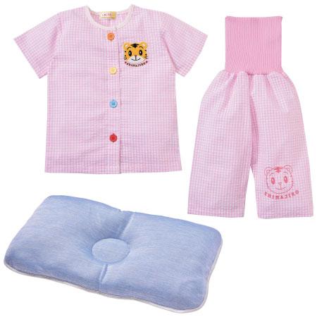 【送料無料】夏のパジャマ2点セット(おけいこパジャマ&クール枕) ピンク たまひよSHOP