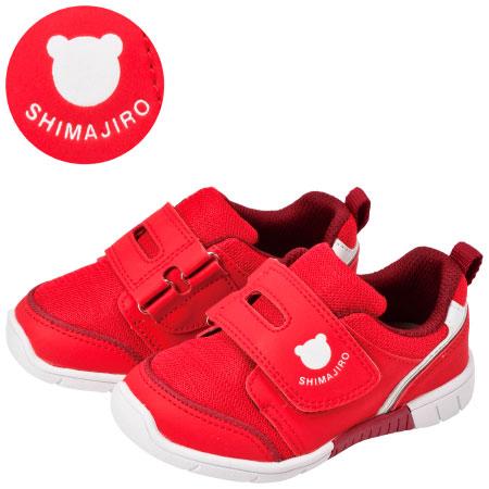 まいにちの靴 キッズ シンプルシリーズ レッド たまひよSHOP