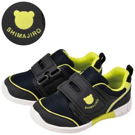 まいにちの靴 キッズ シンプルシリーズ アッシュブラック