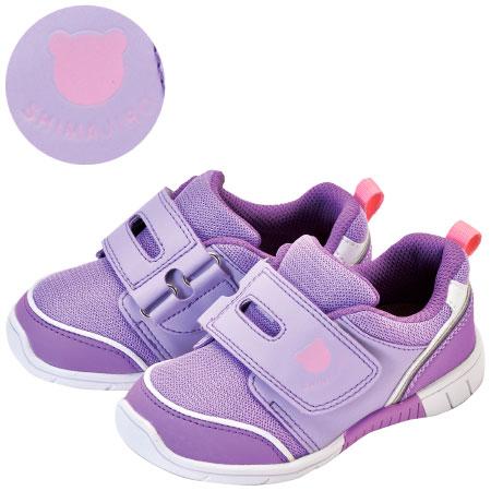 まいにちの靴 キッズ シンプルシリーズ ラベンダー たまひよSHOP