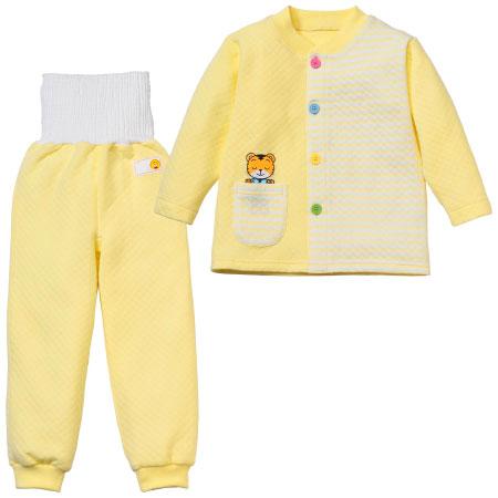 しまじろうの 腹巻付きカラフルボタン おけいこ長袖パジャマ たまひよSHOP